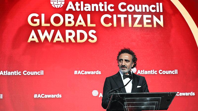Chobani kurucusu Hamdi Ulukaya'ya Küresel Vatandaşlık Ödülü verildi -  egirişim